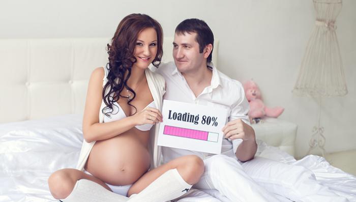 фото беременных девушек с мужем идеи 1