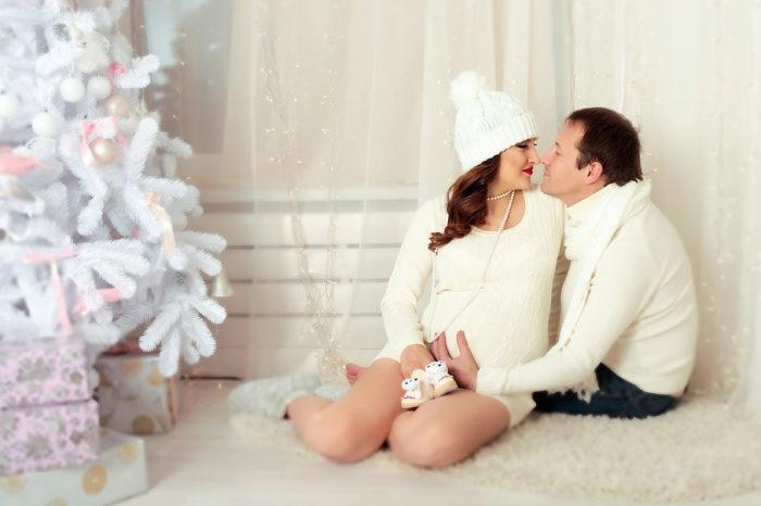 фото беременных девушек с мужем идеи 2