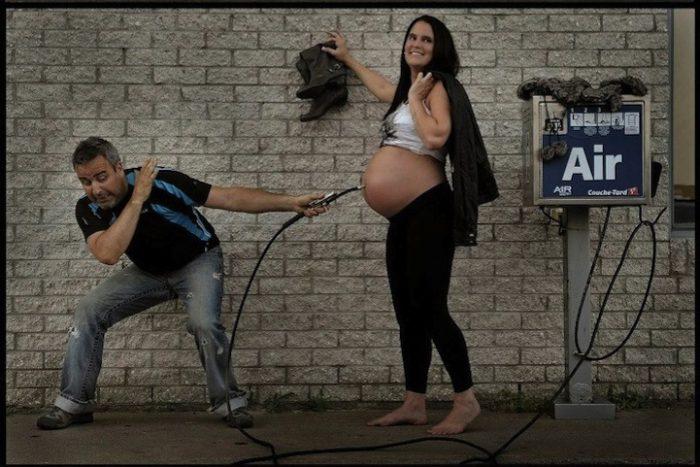 фото беременных девушек с мужем идеи 4