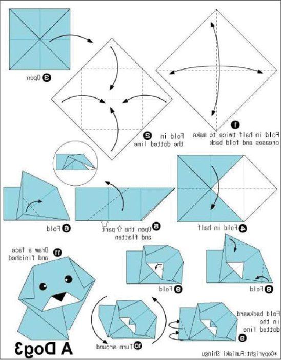 схемы оригами из бумаги 4