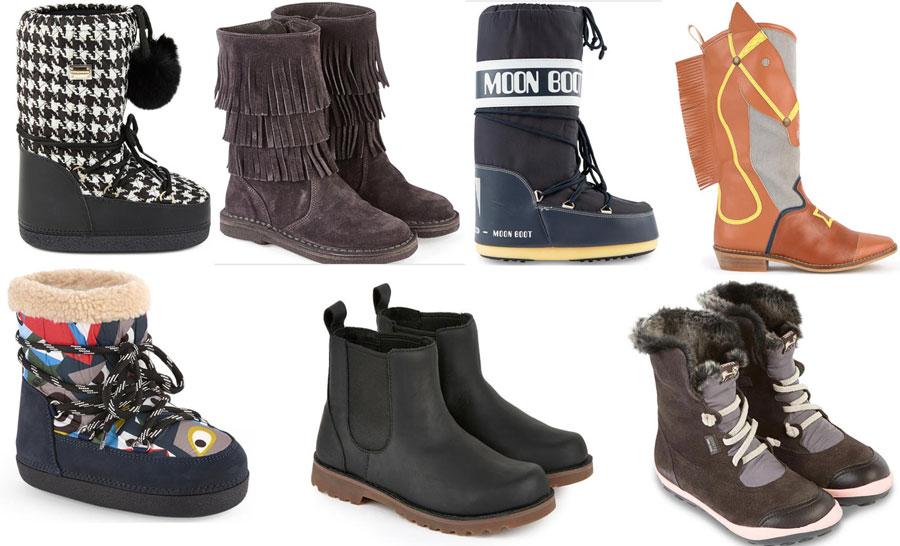Модная детская обувь зима 2018