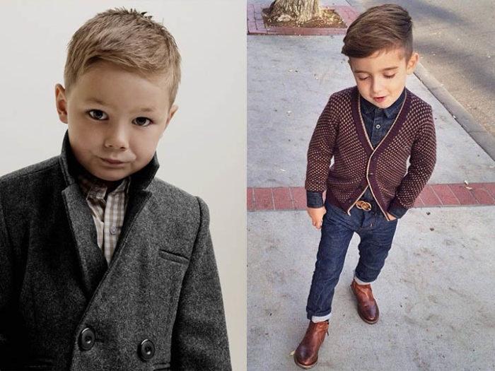 детская мода для мальчиков осень-зима 2017-2018: тренды и тенденции на фото 3