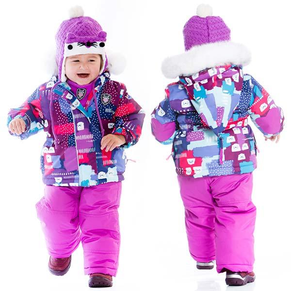 красивые детские комбинезоны осень-зима 2017-2018, модные тренды и тенденции на фото 1