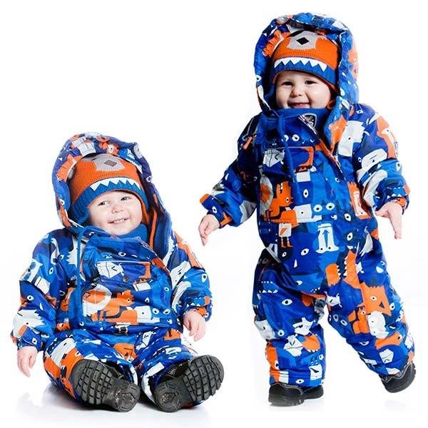 красивые детские комбинезоны осень-зима 2017-2018, модные тренды и тенденции на фото 2