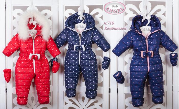 красивые детские комбинезоны осень-зима 2017-2018, модные тренды и тенденции на фото 3