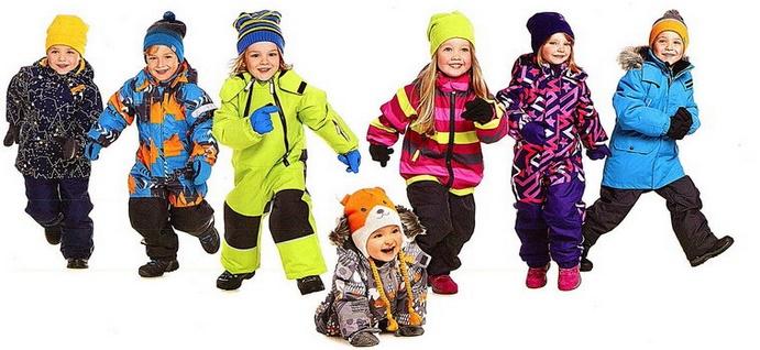 красивые детские комбинезоны осень-зима 2017-2018, модные тренды и тенденции на фото 4