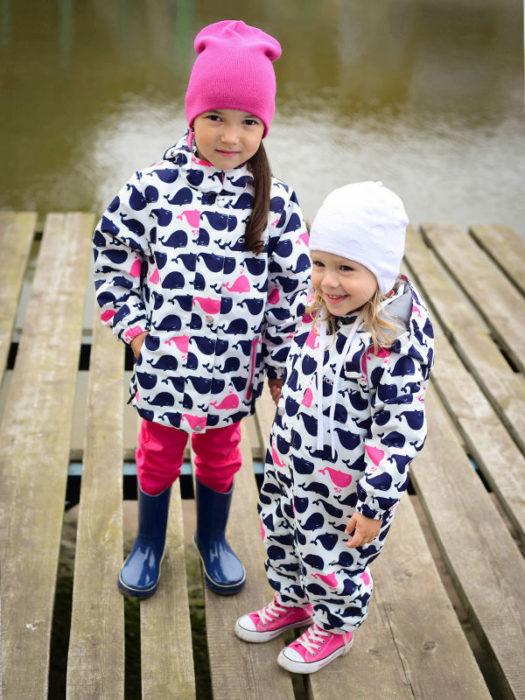 самые красивые и модные зимние комбинезоны для девочек зима 2018, тенденции и тренды на фото 2