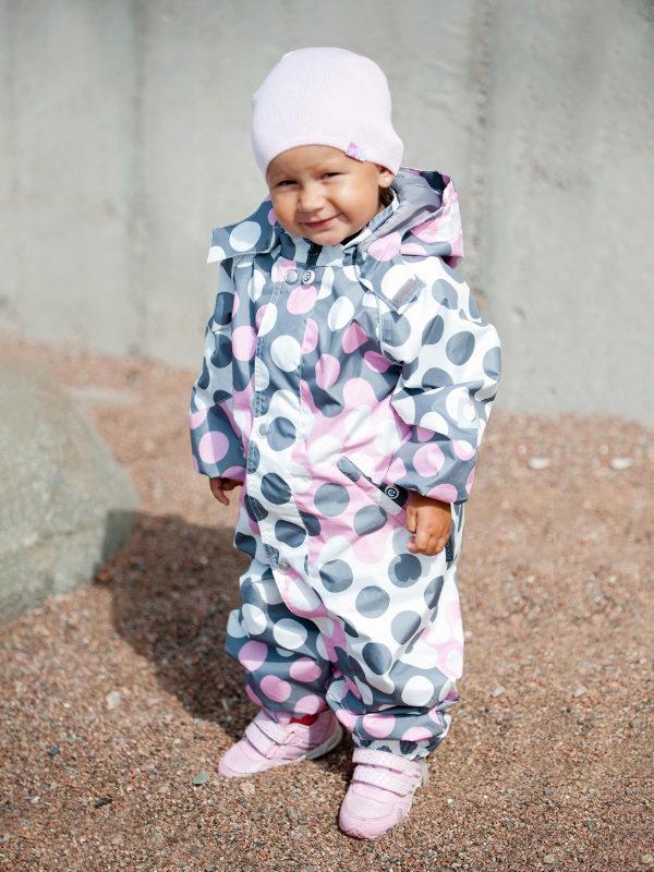 детские комбинезоны для девочек на осень 2017 3