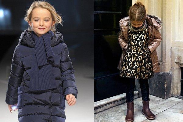 модные детские пуховики для девочек и мальчиков осень-зима 2017-2018 1