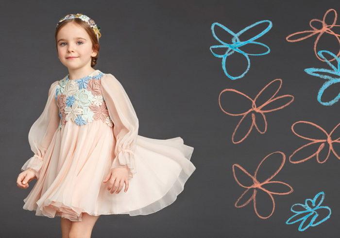 детские платья осень-зима 2017-2018, модные тенденции, тренды, новинки, фото 1