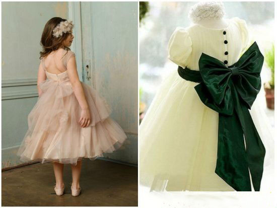 новогодние платья для девочек 2018 к году Желтой земляной Собаки, фото 1