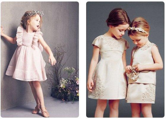 красивые платья для девочек, фото коллекция сезона осень-зима 2017-2018 1