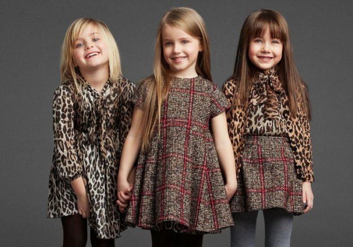 красивые платья для девочек, фото коллекция сезона осень-зима 2017-2018 2