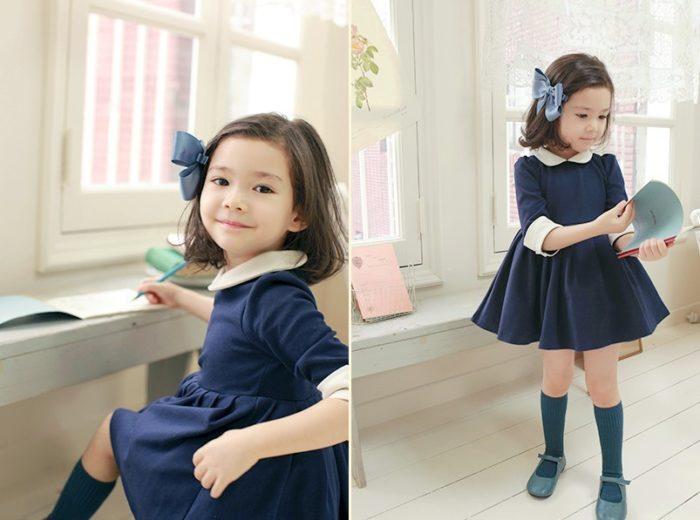 Детские платья на осень фото