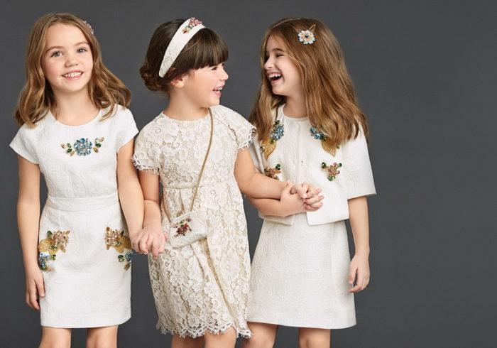 детские платья осень-зима 2017-2018, модные тенденции, тренды, новинки, фото 4