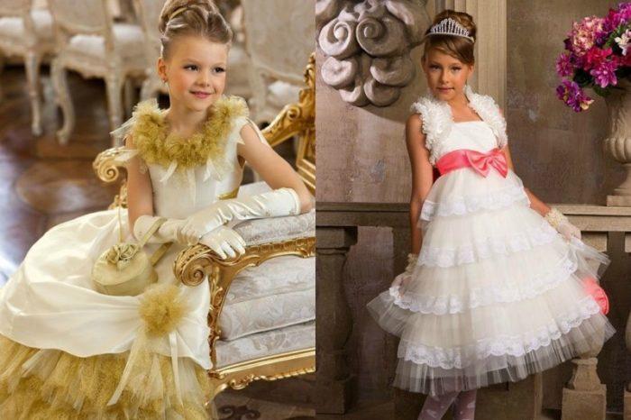 красивые платья для девочек в стиля «а-ля…» 3