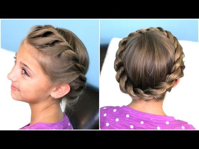 фото идеи детских причесок на среднюю длину волос для девочек 4