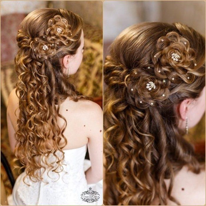 фото идеи детских причесок на длинные волосы для девочек 1