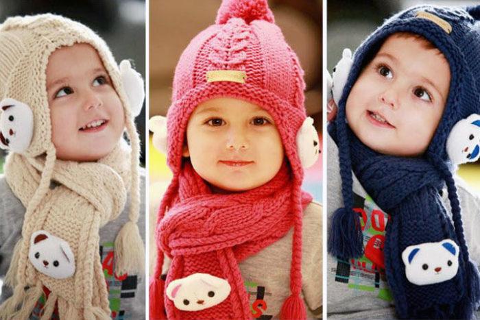 модные детские шапки для девочек, фото 4