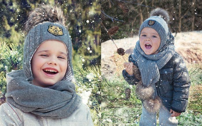 модные детские шапки для мальчиков, фото 1