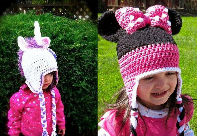 вязаные шапки фото 3