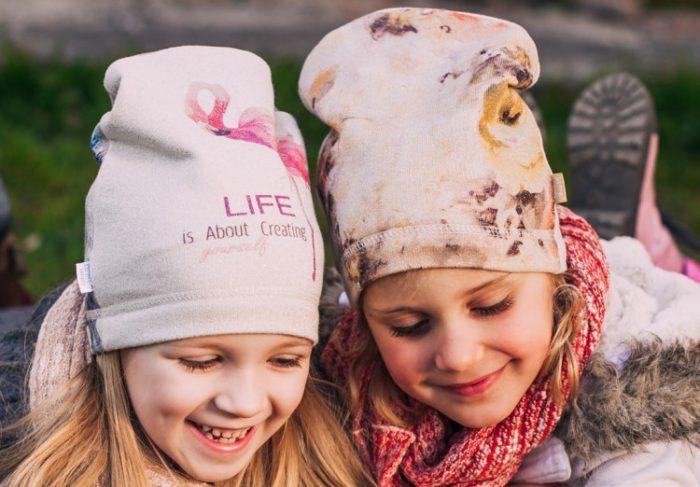 детские шапки осень-зима 2017-2018, модные тенденции и тренды, красивые фото 1