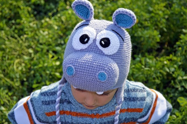 детские шапки в форме животных 4