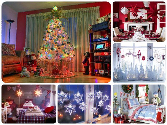 фото идеи новогодних украшений для дома 3