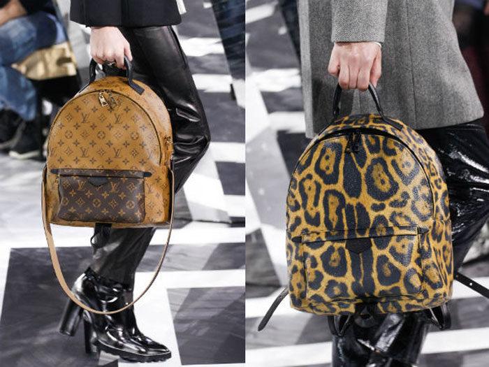кожаные рюкзаки осень-зима 2017-2018: модные тенденции, стильные тренды и фото новинки 5