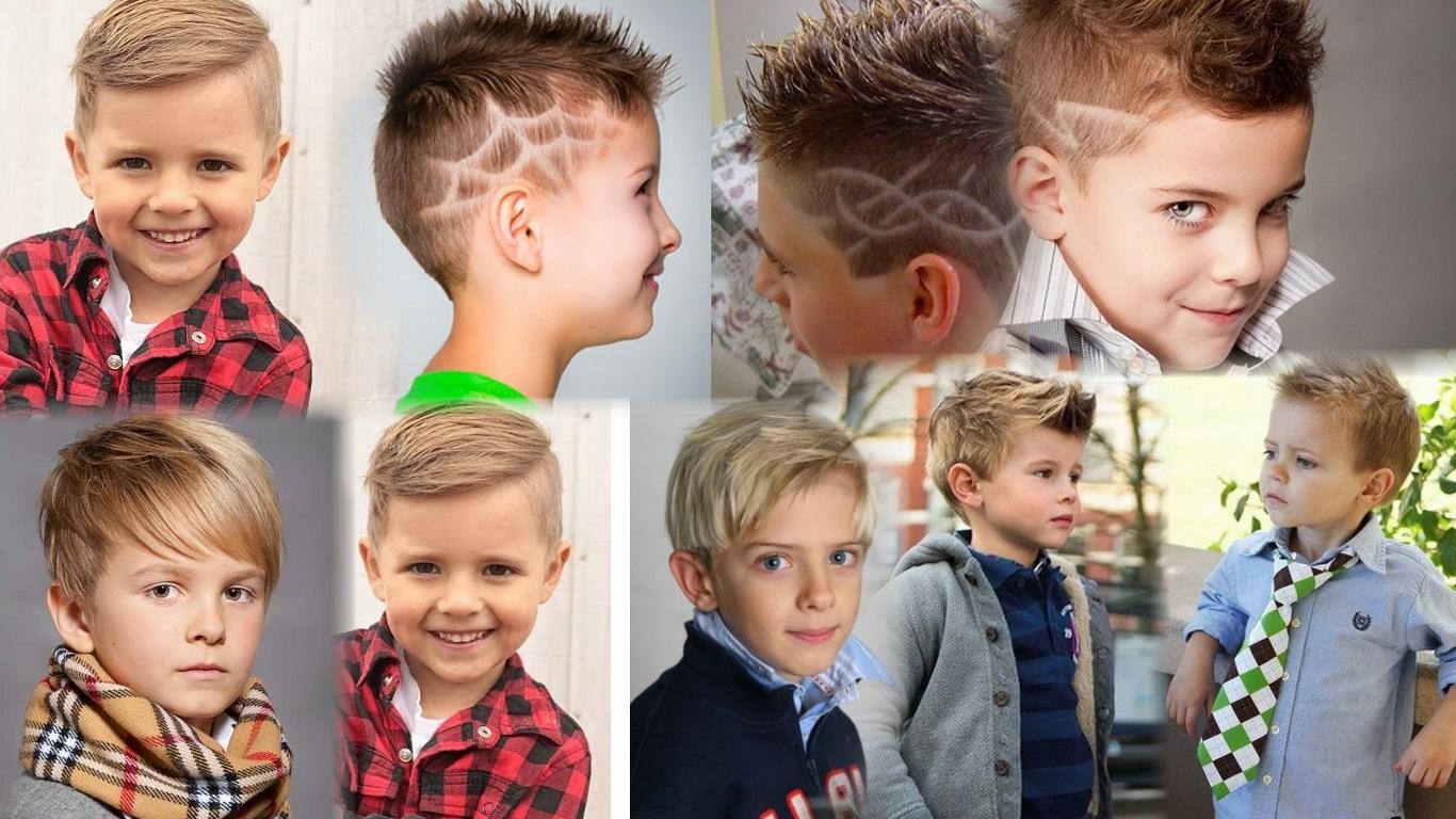Какая прическа модные дети для мальчика