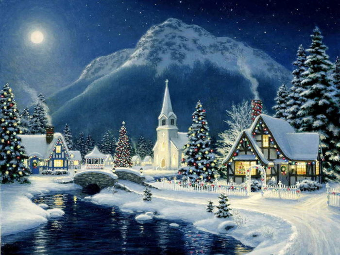 Дед Мороз и снегурочка 1
