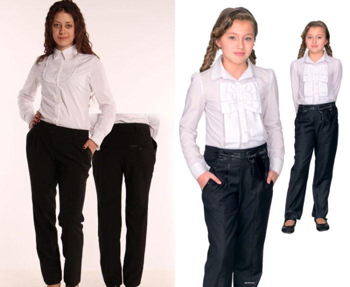 брюки, фото фасоны и новинки 1
