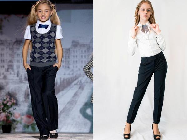 брюки, фото фасоны и новинки 2