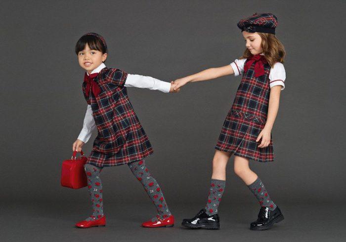 модная школьная форма для девочек 2017-2018 на фото 3