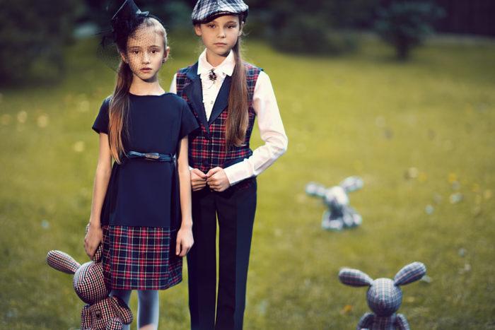 модная школьная форма для девочек 2017-2018 на фото 4