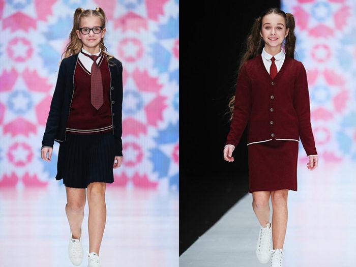модная школьная форма для девочек 2017-2018 на фото 6