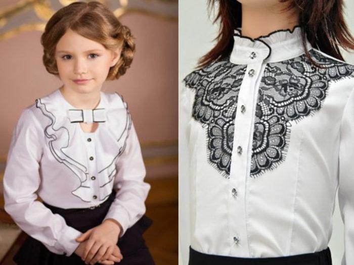 блузки, фото новинки и фасоны 3
