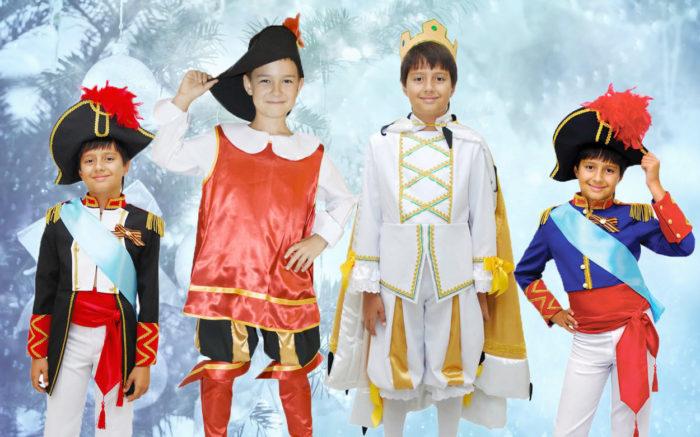 идеи костюмов для мальчиков на Новый год Желтой земляной Собаки 2018, фото 1