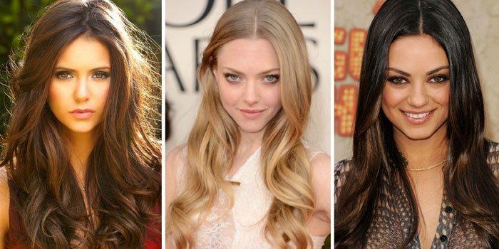 новогодние прически для длинных волос 3