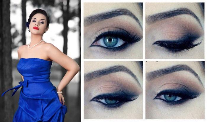 голубые глаза 1