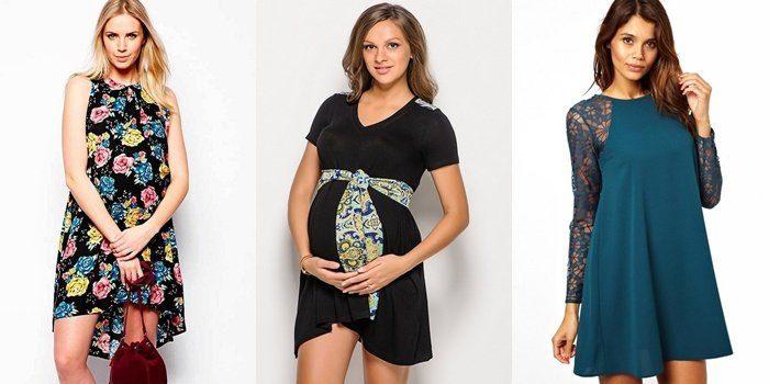 модные платья для беременных на Новый год 2018 Желтой Земляной Собаки