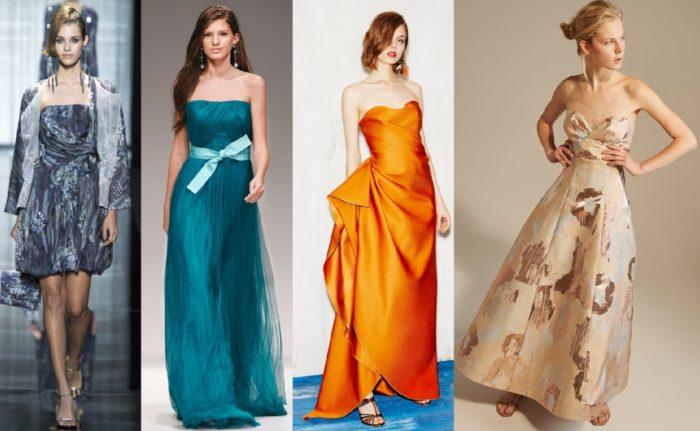 модные новогодние платья 2018 года 9