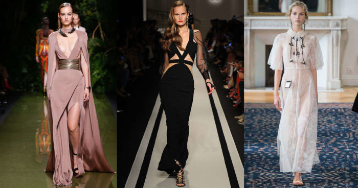 модные тенденции, тренды и новинки новогодних платьев 2018 года 2
