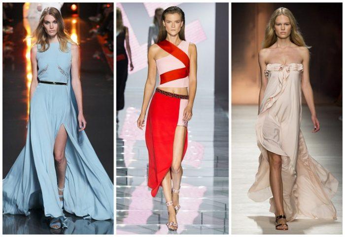 модные тенденции, тренды и новинки новогодних платьев 2018 года 4