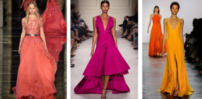 модные тенденции, тренды и новинки новогодних платьев 2018 года 5