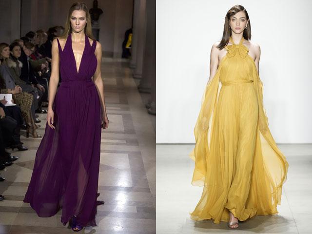 модные тенденции, тренды и новинки новогодних платьев 2018 года 6