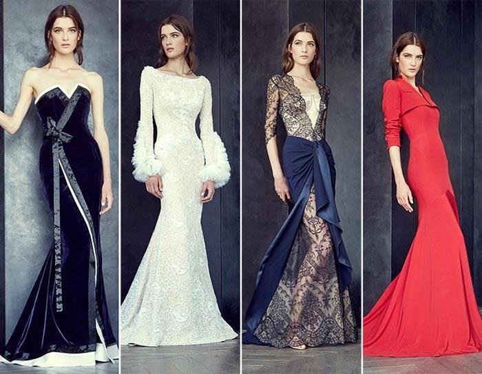 модные тенденции, тренды и новинки новогодних платьев 2018 года 8