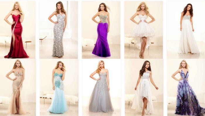 модные фасоны платьев на Новый год 2018, фото 1
