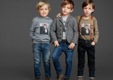 Детская одежда для мальчиков 2018