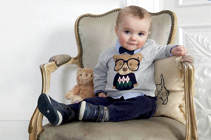 мода для малышей от года